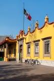 A câmara municipal colonial em Coyoacan em Cidade do México foto de stock royalty free