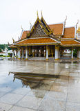 A câmara municipal da cerimônia na estrada de Ratchadamnoen Fotografia de Stock Royalty Free