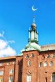 Câmara municipal de Éstocolmo, Éstocolmo, Suécia Imagens de Stock Royalty Free