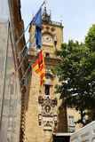 A câmara municipal de Aix-en-Provence Fotografia de Stock
