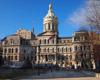 Câmara municipal de Baltimore fotos de stock royalty free
