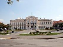 Câmara municipal de Bijeljina Fotografia de Stock Royalty Free