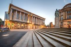 Câmara municipal de Birmingham - Inglaterra fotos de stock royalty free