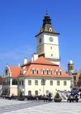 Câmara municipal de Brasov Fotografia de Stock Royalty Free