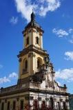 A câmara municipal de Buchach é vista original da arquitetura imagem de stock royalty free