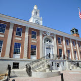 Câmara municipal de Burlington, Burlington, Vermont foto de stock royalty free
