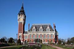 Câmara municipal de Calais, França Fotografia de Stock Royalty Free