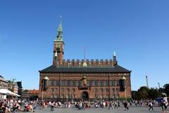 Câmara municipal de Copenhaga Fotos de Stock Royalty Free