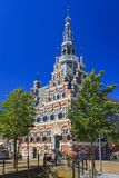 Câmara municipal de Franeker, Friesland, Países Baixos foto de stock
