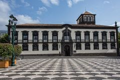 Câmara municipal de Funchal fotografia de stock royalty free