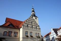 Câmara municipal de Gardelegen fotografia de stock royalty free