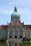 Câmara municipal de Hannover Imagens de Stock