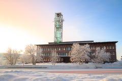 Câmara municipal de Kiruna Imagens de Stock Royalty Free