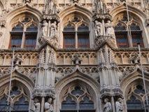 Câmara municipal de Lovaina (Bélgica) Fotografia de Stock