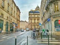 Câmara municipal de Lyon, Lyon, França Imagens de Stock Royalty Free