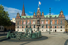 Câmara municipal de Malmo Imagem de Stock