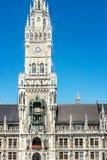 Câmara municipal de Munich Imagens de Stock