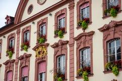 Câmara municipal de Offenburg Fotos de Stock Royalty Free