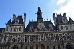 Câmara municipal de Paris Fotografia de Stock