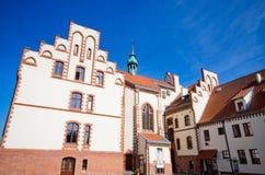 Câmara municipal de Pisz, Polônia fotos de stock