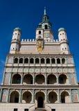 CÂMARA MUNICIPAL de Poznan fotos de stock royalty free