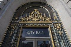 Câmara municipal de San Francisco imagens de stock royalty free