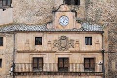 Câmara municipal de Sepulveda, Segovia, Espanha Imagem de Stock Royalty Free
