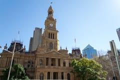 Câmara municipal de sydney Imagens de Stock Royalty Free