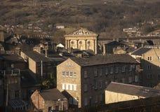 Câmara municipal de Todmorden imagem de stock