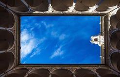 Câmara municipal de Tursi Doria Palace em Genoa Genova, Itália, vista particular imagem de stock