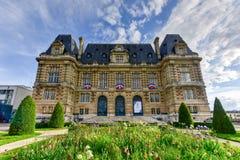 Câmara municipal de Versalhes - França fotografia de stock