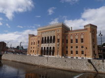 Câmara municipal de Vijecnica Fotos de Stock