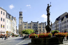 Câmara municipal de Zittau em Alemanha Imagem de Stock Royalty Free