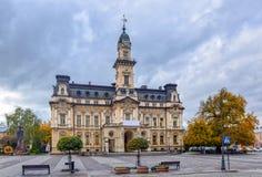 câmara municipal do Neo-renascimento em Nowy-Sacz, Polônia foto de stock