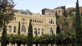 Câmara municipal e Alcazaba- Malaga-Andaluzia-Europa Imagens de Stock