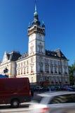 Câmara municipal em Bielsko-Biala. Fotos de Stock Royalty Free