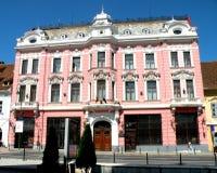 Câmara municipal em Brasov (Kronstadt), Transilvania, Romênia Imagem de Stock