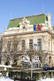 Câmara municipal em Iasi (Roménia) Imagens de Stock