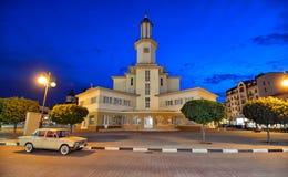 Câmara municipal em Ivano-Frankivsk Fotografia de Stock Royalty Free
