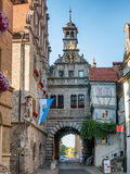 Câmara municipal em Marktbreit, Alemanha imagem de stock royalty free