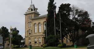 Câmara municipal em Simcoe, Ontário, Canadá 4K filme