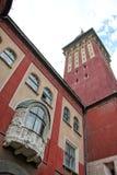 Câmara municipal em Subotica Fotos de Stock Royalty Free