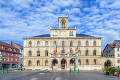 Câmara municipal em Weimar, Alemanha fotografia de stock