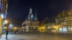 Câmara municipal em Wernigerode, Alemanha video estoque