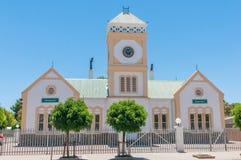 Câmara municipal em Willowmore, África do Sul imagem de stock