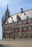 A câmara municipal, Gouda, Países Baixos Fotos de Stock Royalty Free