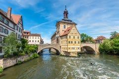 Câmara municipal histórica de Bamberga, Alemanha Fotografia de Stock