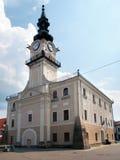 Câmara municipal histórica em Kezmarok fotografia de stock