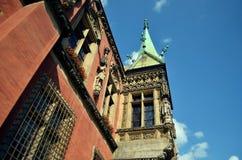 Câmara municipal histórica em Wroclaw Fotos de Stock Royalty Free
