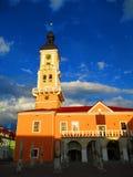 Câmara municipal, Kamenets Podolskiy, Ucrânia Fotografia de Stock Royalty Free